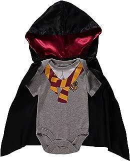 Infant Boys 2 Piece Bodysuit with Detachable Cape