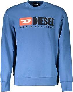 Diesel S-Crew-Division Felpa Blue Sweatshirt