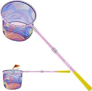 PLUSINNO Kids Fishing Net, Landing Net with Carbon Fiber...