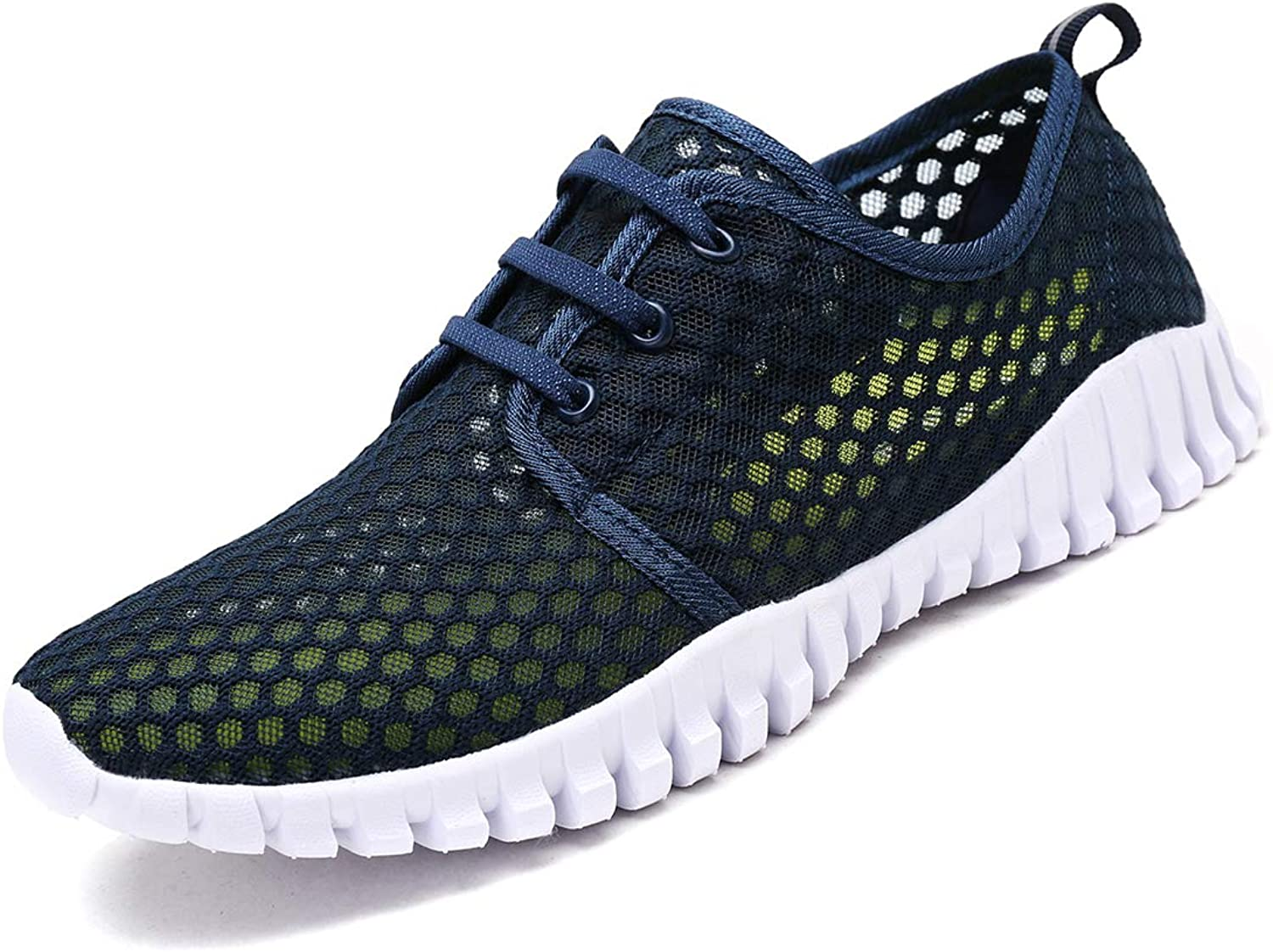 KEESKY Quick Drying Water shoes Barefoot Mesh Aqua shoes for Men and Women