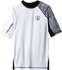 Volcom Kids - Lido Block Short Sleeve Thrashguard (Big Kids)