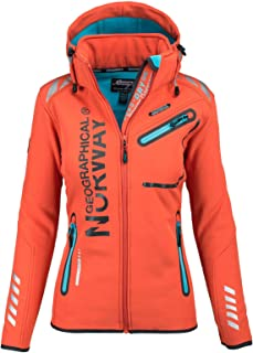 Geographical Norway Lady Chaqueta funcional al aire libre para mujer Softshell Jacket
