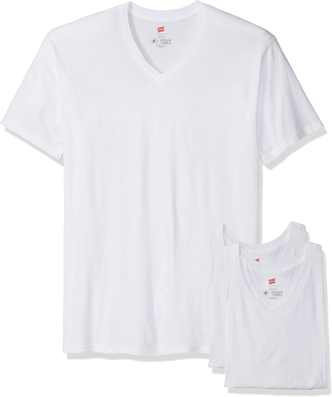 Hanes Men's Size 3-Pack X-Temp Tall V-Neck