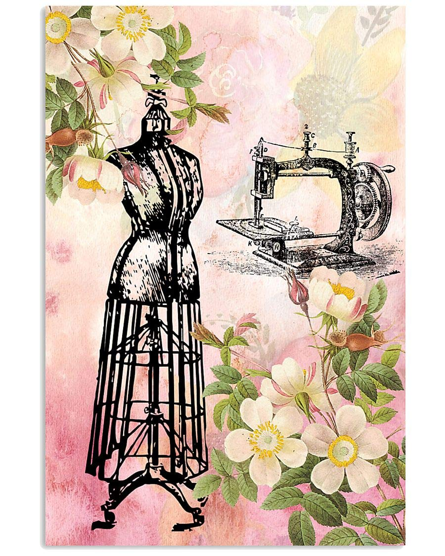 Sewing shopping Floral Modern Poster Nature for Wall Industry No. 1 Decor Bedroom
