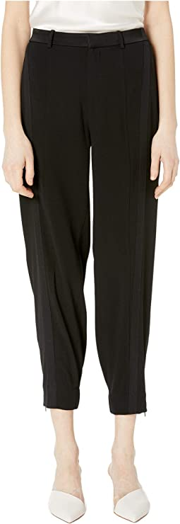 Satin Back Crepe Pants