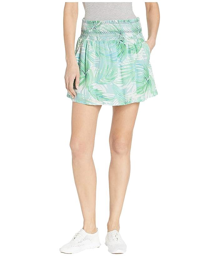 Carve Designs Rose Skirt (White Palms) Women