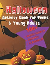 Halloween Activity Book For Teens & Young Adults: A Fall Festival Puzzle Book PDF