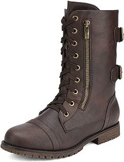 Best faux fur lined combat boots Reviews