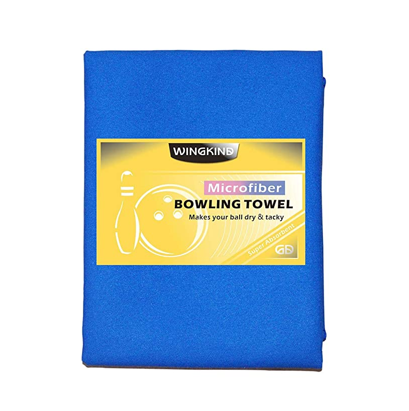 Wingkind Microfiber Bowling Towel Ultra-Light Cleaning Pad