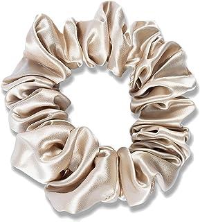 22 mumi jedwabna opaska do włosów % 100 jedwab mulberry lina do włosów duża 3,5 cm szerokości duże koło jelita jedwabista ...