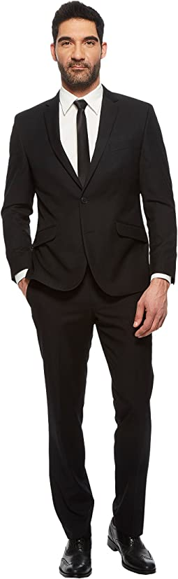 Kenneth Cole Reaction - Slim Fit Finished Bottom Suit