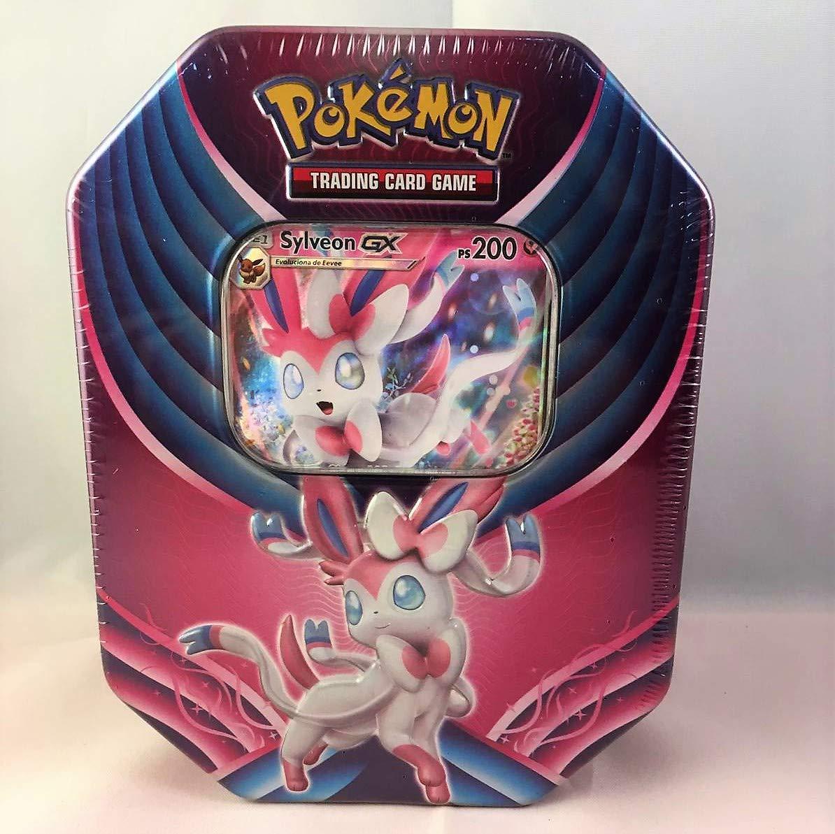 Caja Metalica Pokemon Sylveon gx (español) : Amazon.es: Juguetes ...