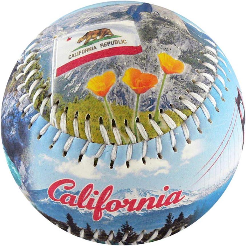 EnjoyLife Inc California Souvenir Baseball