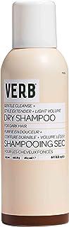 Verb Dry Shampoo Dark - Limpieza suave + extensor de estilo + volumen de luz 4.5oz