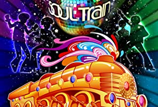 7x5ft Soul Train Disco Dancing Party Backdrop Banner 70's 80's Scene Setters Pictorial Cloth Customized Photography Backdrops Digital Printing Background Photo Studio Prop