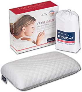 VISCO LOVE US ProComf Travel and Camping Mate/Baby/Kid's/Teen's/Adult's Memory Foam Pillow