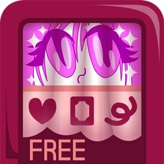 Punykura Free - Kawaii, cute purikura ( Japanese photo booth ) deco sticker / stamp & frame