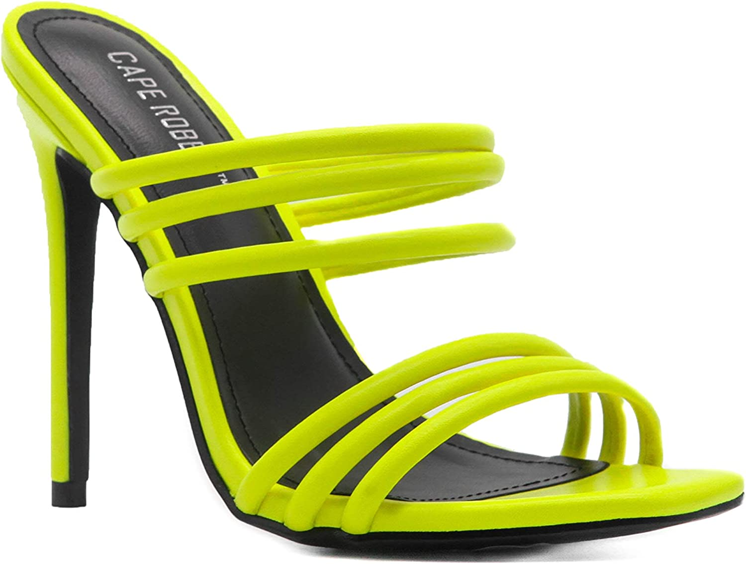 Cape Robbin Kelly Sexy Stiletto High Sq Strappy All items in the At the price of surprise store Women Heels for