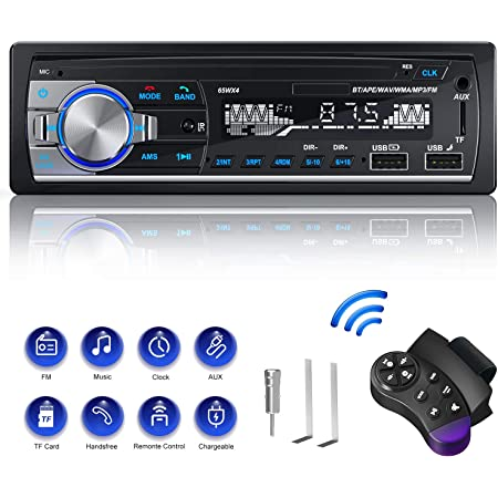 Autoradio Din 1 Radio Cenxiny Autoradio Mit Bluetooth Elektronik