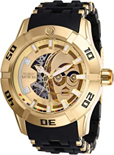 Star Wars Automatic Gold Dial Men's Watch 26550
