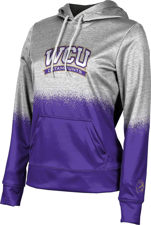 Western Carolina University Girls' Pullover Hoodie, School Spirit Sweatshirt (Spray Over)