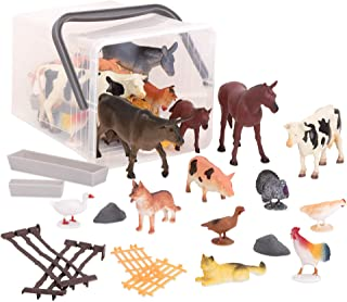Farm Toys School Prop Barn Toy Farm Animal Toys Cow Puppet Cow Toy Cow Accessories Moo Cow Barnyard Barn Animals Puppets for Kids