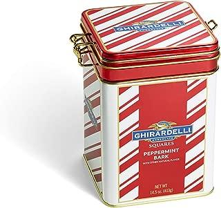 Ghirardelli Peppermint Bark Keepsake Tin, 14.5 ounce