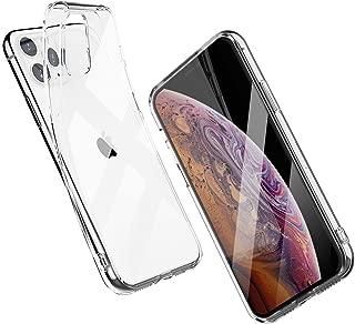 Shamo's Case for iPhone 11 PRO MAX Clear Soft Transparent Cover TPU Bumper