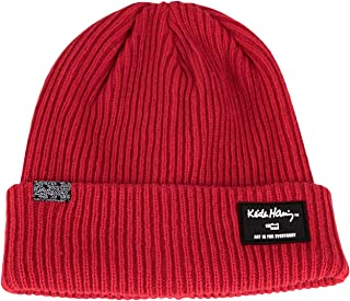 WITHMOONS Mens Keith Haring Skull Beanie Hats Winter Knit Caps Warm Ski CR51228