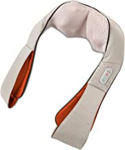 HoMedics Shiatsu Deluxe Neck & Shoulder Massager with Heat | Shiatsu Massager, 3 Speeds, Changes Direction | Muscle Kneading for Neck, Shoulders, Back, & Legs, Portable, Convenient Straps | Thera-P