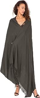 Kasa 美利奴羊毛披肩和超大围巾 100 X 200厘米