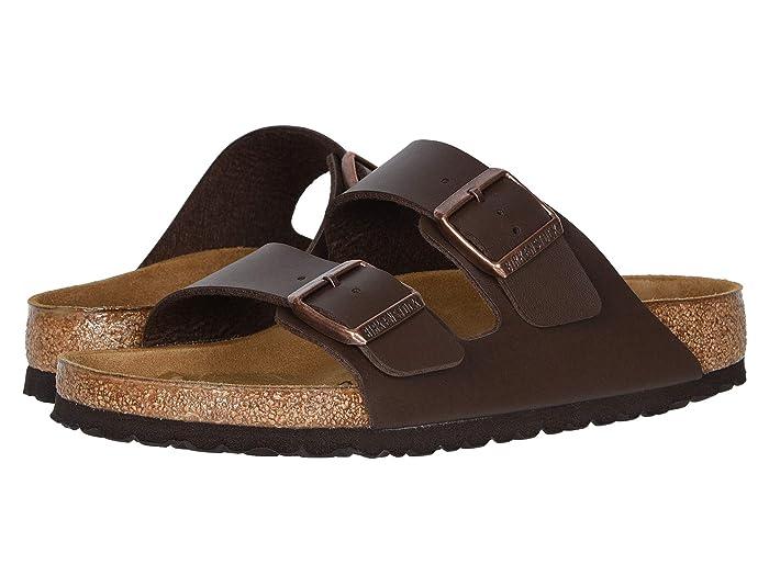 Birkenstock  Arizona - Birko-Flortm (Brown Birko-Flortm) Sandals