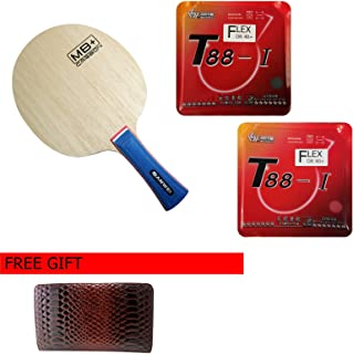 Sanwei M8 Plus Carbon with T88-I Flex, 4 Stars Ping Pong Paddle