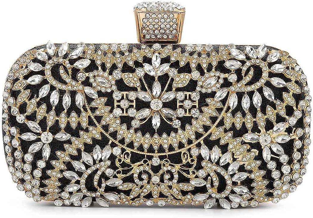 Yokawe Womens Crystal Evening Clutch Bag Bridal Now on sale Purse trust Rh Wedding