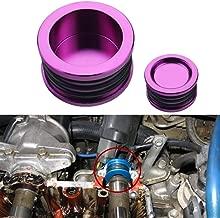 Dewhel B16 B18 B20 H22 H23 F20 Engine For HONDA Acura B-SERIES H-SERIES BILLET Triple O Ring CAM CAMSHAFT SEAL PLUG Color Purple