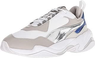 Women's Thunder Electric Sneakers, Puma White/Grey Violet/White, 9.5 Medium US