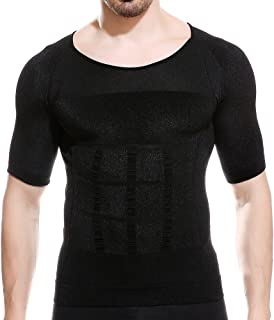 【強圧版】加圧インナー 加圧シャツ メンズ トレーニングウェア 体幹矯正 姿勢矯正 脂肪燃焼 黒 XL