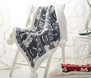 Zebrum Knitted Cotton Blanket, 30