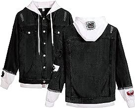 Highmoon Clothing Women Denim Jacket for Girls Bomber Jacket Cowboy Girl Jean Jacket Coat