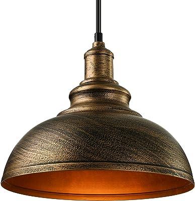 Relaxdays Luminaire suspension lampe de plafond plafonnier