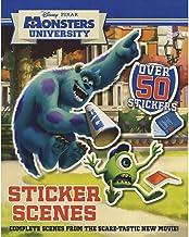 Disney Pixar Monsters University Sticker Scenes (Disney Monsters University)