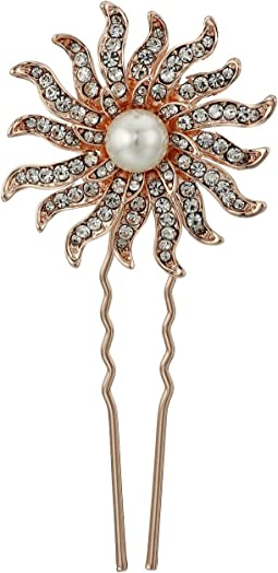 Aileen Celestial White Pearls Hair Pin