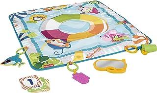 حصيرة الغوص في النشاط من فيشر برايس، حصيرة لعب للأطفال مع ألعاب GRR44