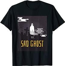 Ghost Shirt - Halloween Cemetery Sad Ghost - Scary Night T-Shirt