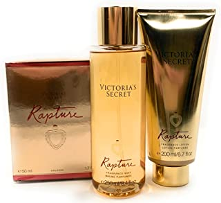 Victoria's Secret Rapture Eau de Parfum 3 Piece Bundle