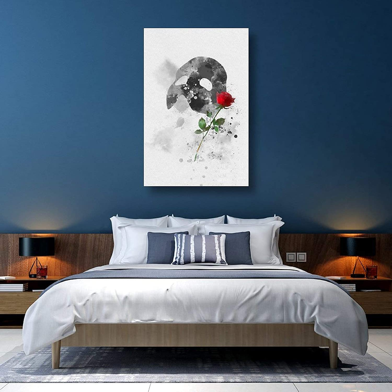 Phantom of The Opera Wall Art Painting Canv Print On Picture 5 ☆ very popular sold out
