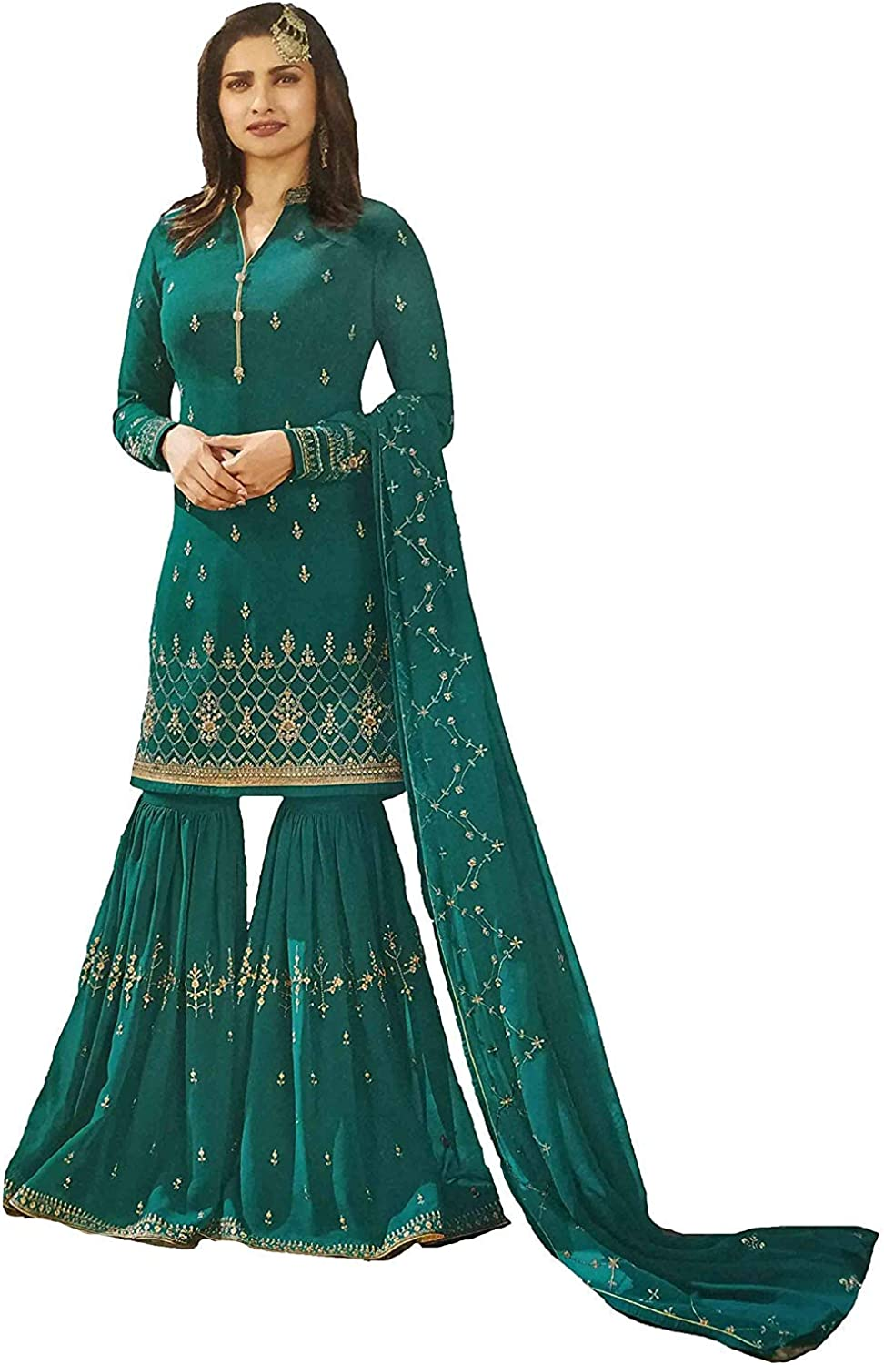 Stylishfashion Net Latest Embroidered and with Beautiful Anarkali Designer Salwar Kameez Wedding Party Suit