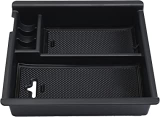 9 MOON Center Console Insert Organizer Tray Fit Toyota Tacoma (2016-present), Armrest Secondary Storage Box Glove Pallet Car Accessories