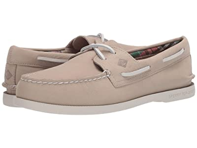 Sperry A/O 2-Eye Plushwave Washable (Bone) Men