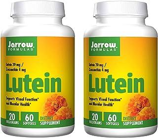 Jarrow Formulas, Lutein, 20 mg, 60 Softgels, 2 Pack